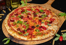 Pizza Vegetariana Capresse