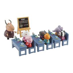 Figura Peppa Pig Salón De Clases Playset 1 U