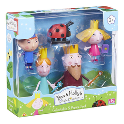 Set de Figuras Ben And Holly Bandai 5279 1 U