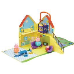 Juguete Didáctico Peppa Pig Casa Con 4 Figuras Playmat 1 U