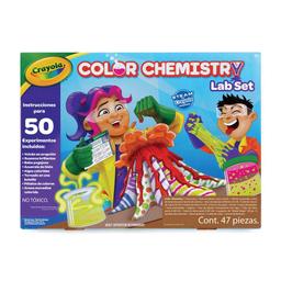 Manualidad Crayola Color Chemestry 1 U