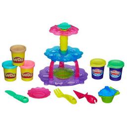 Masa Play Doh Torre de Pastelitos 1 U