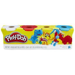 Masa Play Doh 4 Pack Hasbro 1 U