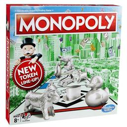 Hasbro Gaming Juego De Mesa Hasbro Monopoly Clasico Nuevo