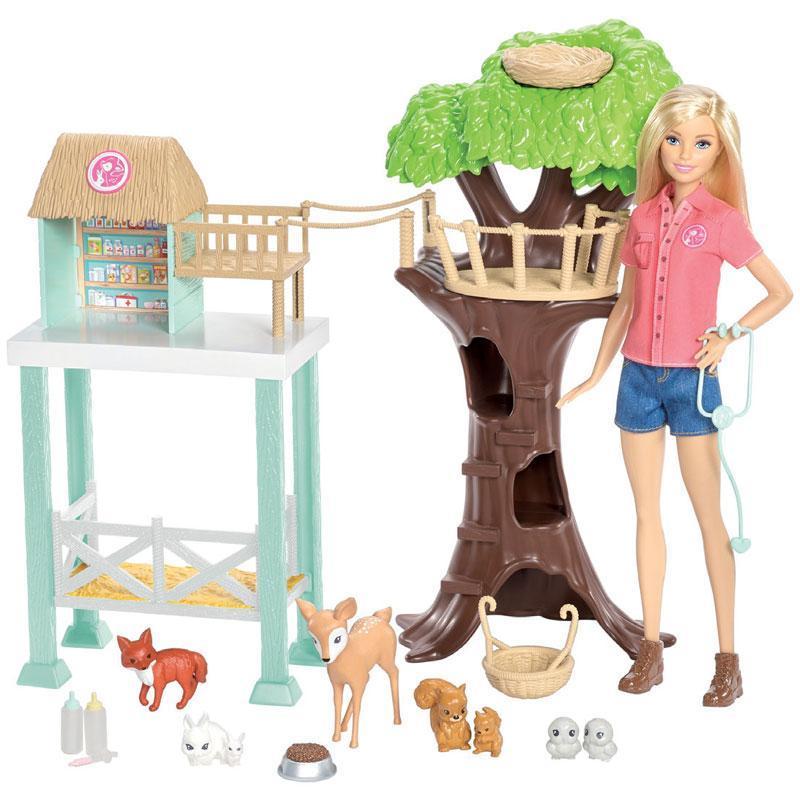 Barbie Muñeca Rescate De Animalitos
