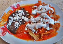 Chilaquiles Chicharronudos