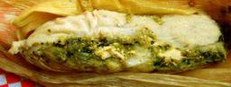Tamal Verde con Queso