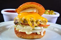 2X1 CMS Burger Cuatro Quesos