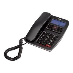 Teléfono con teclado grande y pantalla TEL-235