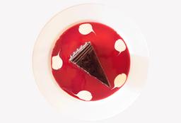 Pastel de Cioccolato con Frambuesa