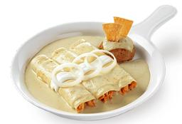 Enchiladas Suizas (3 pzas)