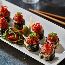 Spicy Dragon Roll Sushi
