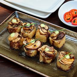 Shrimp & Mushroom Roll Sushi