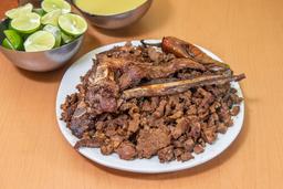 Tacos de Chuleta Natural