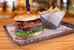 Chipotle Cheddar Burger