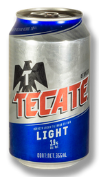 Cerveza Tecate Light 355 ml