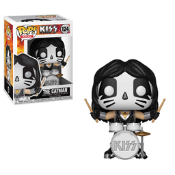 Figura Funko Pop The Catman de Kiss 124 1 U