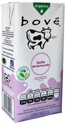 Leche Deslactosada Orgánica Bove 1 L
