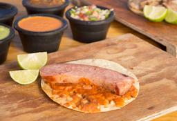 Tacos de Chorizo Argentino