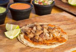 Tacos Mollejas de Res