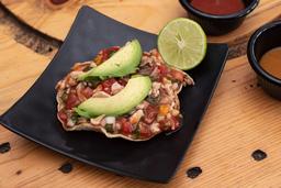 Tostada Ceviche Acapulco