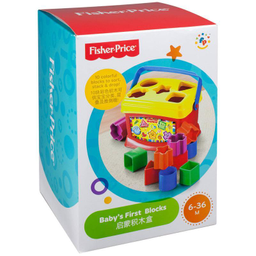 Juguete Didáctico Fisher Price Babys First Blocks Refresh 1 U