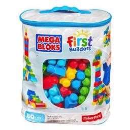 Set de Construcción Mega Bloks Bolsa Azul con 80 Piezas 1 U