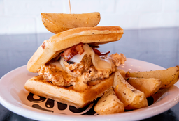 Spicy Chiken and Waffle