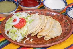 Tacos Dorados de Papa Sencillos