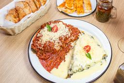 Lasagna de Vegetales y Queso