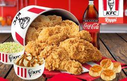 Familiar 12 Piezas + Coca Cola