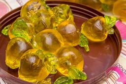 Gomitas de Durazno de Cristal