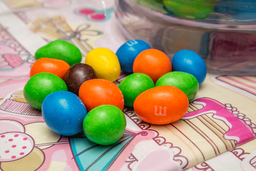 Chocolates M&m Cacahuate