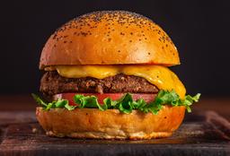Black Bean & Quinoa Cheese Burger