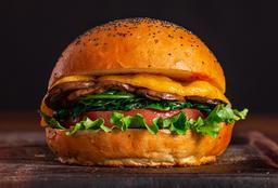 Champiqueso Veggie Burger