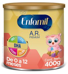 Fórmula Infantil Enfamil Premium A.R.. 0-12 Meses 400g
