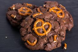 Chocolate con pretzel