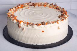 Carrot cake (rebanada)