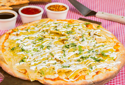 Pizza Chilaquiles