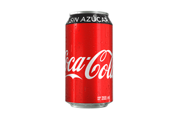 Coca-Cola sin Azúcar 355 ML.