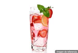 Agua de fresa