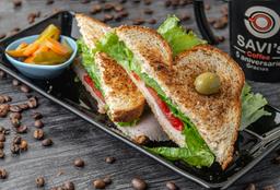 Sándwich de Pechuga de Pavo
