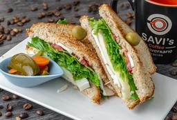 Sandwich de Tres Quesos