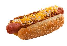 Hot Dog con Chili