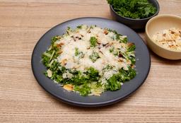 Ensalada Kale, Manzana y Almendra