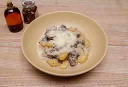 Gnocchi en Salsa de Hongos