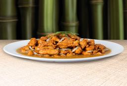 Pollo en Salsa Curry