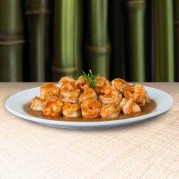 Camarones en Salsa de Ostión