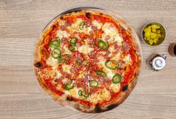 Pizza Salchicha Italiana con Jalapeño