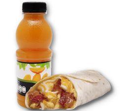 Combo Bacon and Egg Burrito